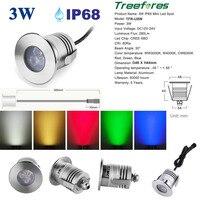 3 Вт IP68 12 В 24 В CREE Led пейзаж Освещение для открытых прожектор сад газон пятно света 3 Вт