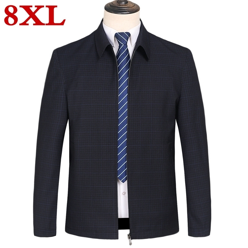 New high quality plus size 8XL 7XL 6XL Business Casual Men 39 s Jacket Coat Spring Autumn Male Classic Style Loaded Man Coat in Jackets from Men 39 s Clothing