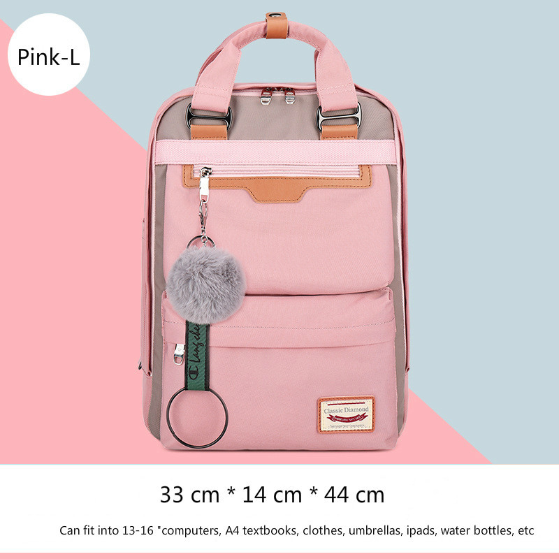 Image 4 - 2020 New Waterproof Nylon Kids Backpack Girls For Middle School  Students Travel Shoulder Backpacks Children Schoolbags Women BagSchool  Bags