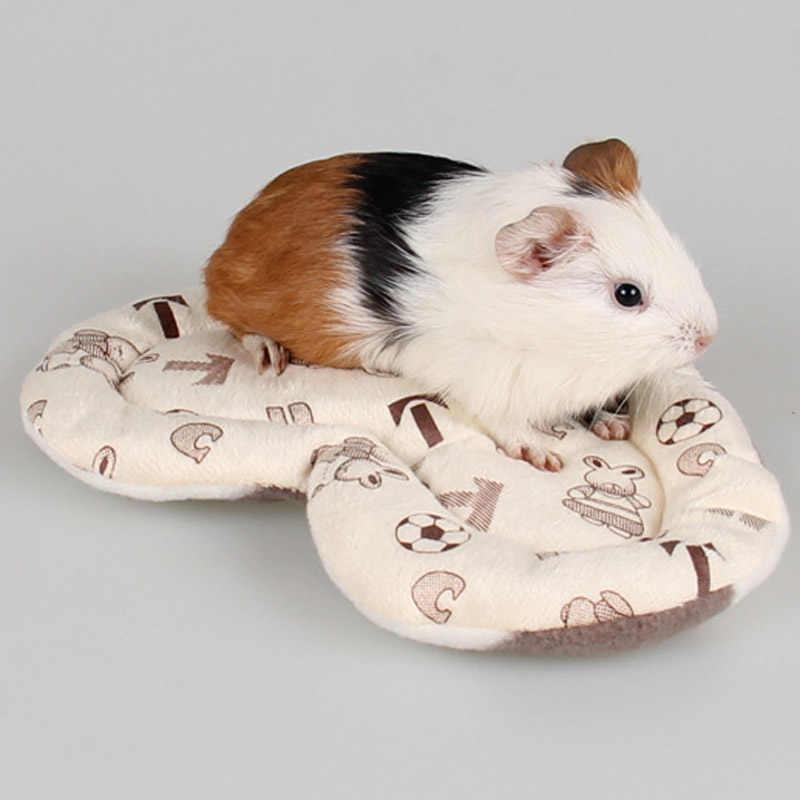 Doggyzstyle totoroes кровать зима теплая Кролик Хомяк Коврики мелких животных, клетки кровать розовый синий бежевый серый