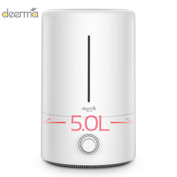 Xiaomi Mijia deerma 5L Air Humidifier for Baby Family Pregnant in Bedroom Office household AC ON Sleep Air Purify MoisturizerH20 Трубопроводный кран