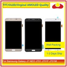 """ORIGINALE 5.5 """"Per Samsung Galaxy J7 neo J701 J701F J701M J701MT Display LCD Con Pannello Touch Screen Digitizer Pantalla completo"""
