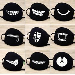 Лицевая маска унисекс 12 стиль камуфляж рот муфельные унисекс респиратор стоп загрязнения воздуха мультфильм Милая хлопковая маска