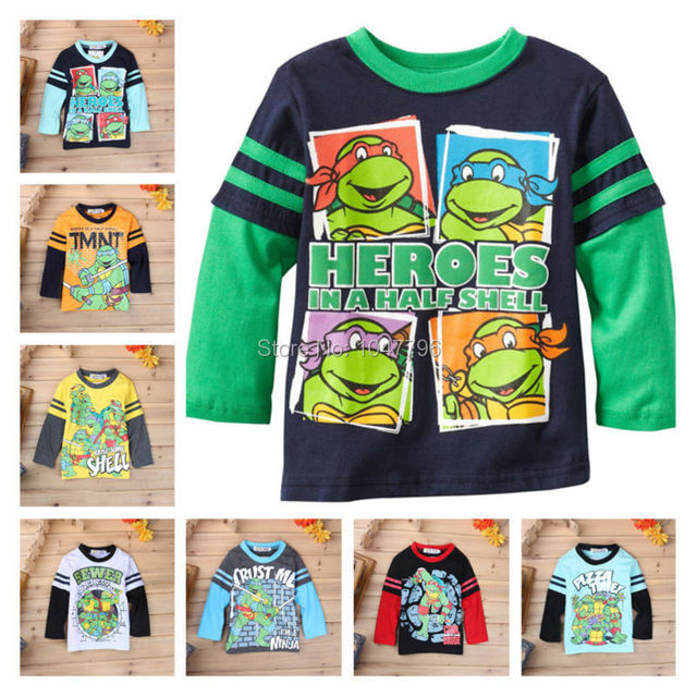 (Get Toy As Gift!)Boys T-shirt Kids Tees Baby Boy Shirts Children's T-shirt Boys T shirt Sweater Long Sleeve Cotton Boys Clothes