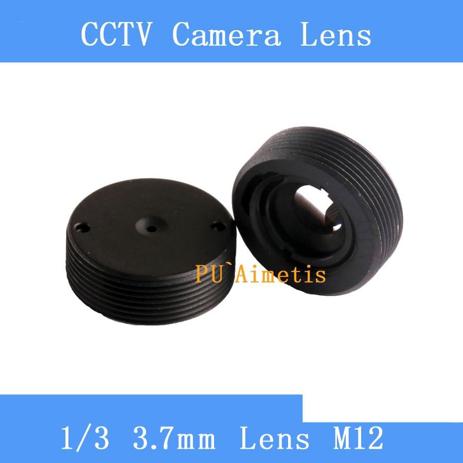 цена на PU`Aimetis High Quality mini 3.7mm cctv lens Plane Lens CCTV Board M12 Lens For CCTV Security Camera
