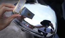 Автомобиль modificat левый руль Chrome заднего Боковая дверь зеркало заднего вида крышки отделка 2 шт. для Mercedes Benz E Class W213 2016 2017