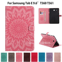 T560 Case For Samsung Galaxy Tab E 9 6 Inch T560 T561 SM T561 Smart Cover