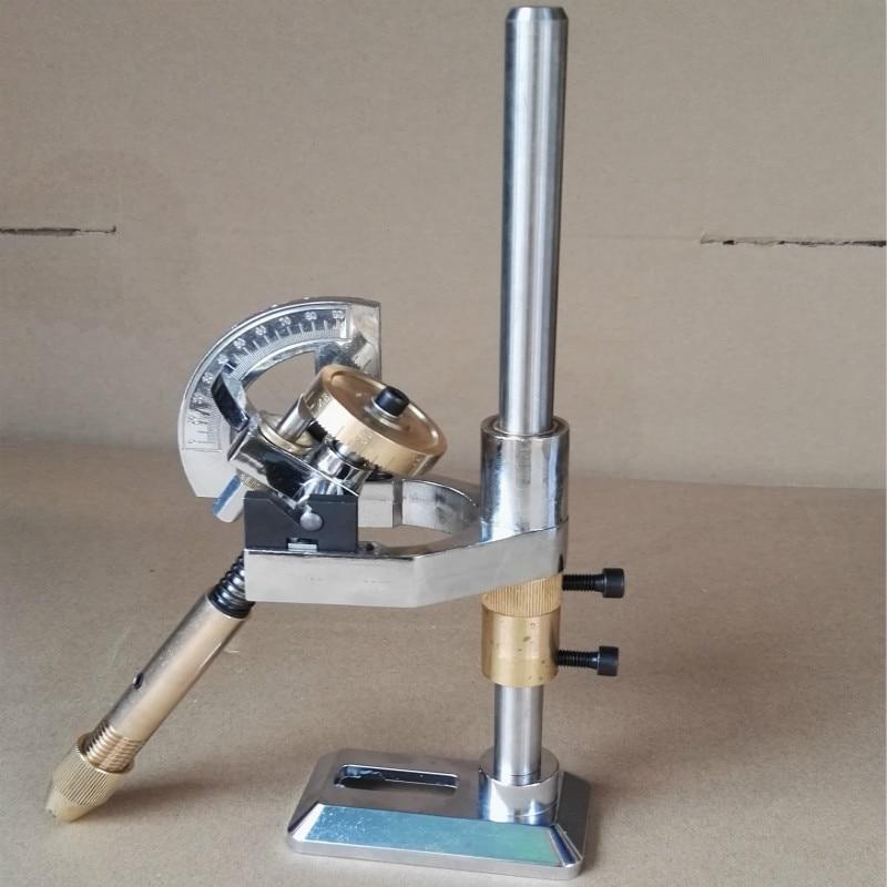 อัญมณี Faceting เครื่อง Faceted manipulator อัญมณีเล่นมุมแบน mill หินขัดมุม 96 index ล้อ handle-ใน เครื่องมือและอุปกรณ์สำหรับอัญมณี จาก อัญมณีและเครื่องประดับ บน   1