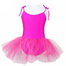 Condole Belt Party Tulle Ballet Dance Dresses Solid Color Dancing Tutu Dress Costume Lyrical Dancewear For Kids Girls Children