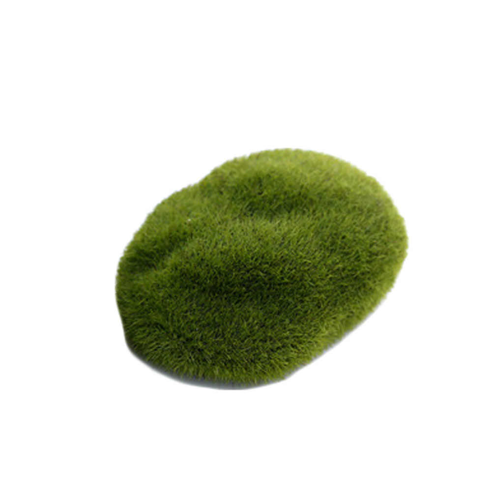 New Artificial Fake Moss Lawn Mossy Stone Model Micro Landscape Fairy  Garden Miniature Decoration Ornament