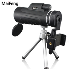 Sale 40×60 monocular Telescope Professional HD Mini Handheld with Tripod Phone Clip tripod Ultra Wide Angle Rotary Goggles maifeng
