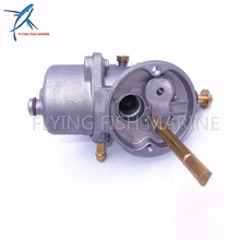 Carburador 6A1-14301-03 6A1-14301-00 para motores fuera de borda Yamaha 2 MS Motor 6A1-14301