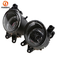 POSSBAY 12V Car Fog Light Lamp for Audi A4 B6 2000.11 2004.12 for Volvo C30 2007 2013 12V 55W Halogen Foglamps