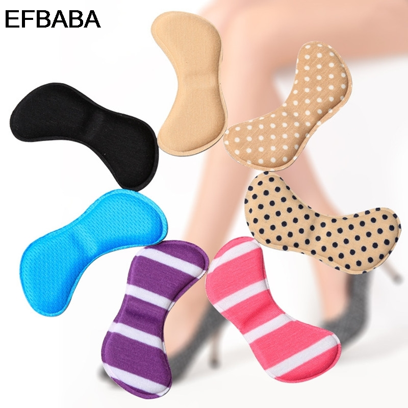 EFBABA High Heel Insole Memory Foam Insoles Women Shoes Sticker Heel Pad Pain Relief Shoe Cushions Insert Accessoire Chaussure 2017 new winter wool insole hyperion warm shoe pad thick lamb cashmere insoles for women medium b m accessoire chaussure