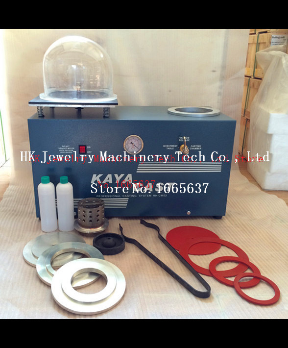 Jewelry Casting Machine GOLDSMITH Vacuum Investing & Casting Machine, Jewelry Making Tools Vacuum casting machine 3cfm jewelry casting machine with vacuum pump kaya mini casting machine vacuum investment casting machine for jewelry tools