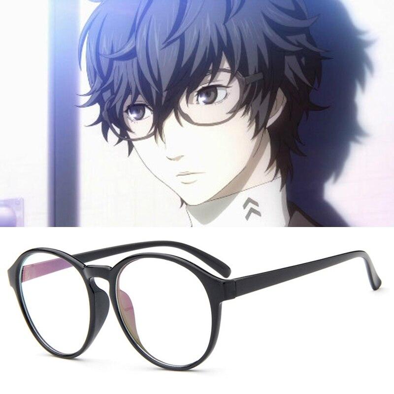Anime Persona 5 Ren Amamiya Cosplay Glasses Props Akira Kurusu Game