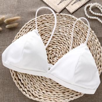 Deruilady Elegant Seamless Bras For Women Small Strap Wireless Push Up Bra Comfort Underwear Bralette Ladies Sexy Lingerie