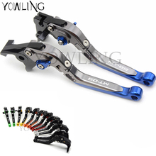 Motorcycle CNC Adjustable Extendable Brake Clutch Levers For Yamaha MT09 MT-09 2014 2015 2016 2017 2018 FZ09 FZ-09 MT 09 for yamaha mt 09 mt 09 mt 09 motorcycle motorbike motorcycle cnc adjuster foldable clutch brake levers clutch lever