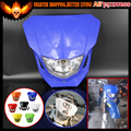 Dirt bike Dual Sport Off Road Street Fighter ENDURO Motorcycle Universal Vision Headlight For YAMAHA YZ TTR WR XT 250 450 600