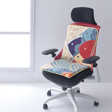 220V Electric Heating Mat Office Back Heated Chair Cushion Electric Blanket Winter Warm Pad Six Speed Adjustment Heating Cushion square multifunctional plush heated electric blanket pet heating pad safety thermostat warm carpet heating office chair cushion