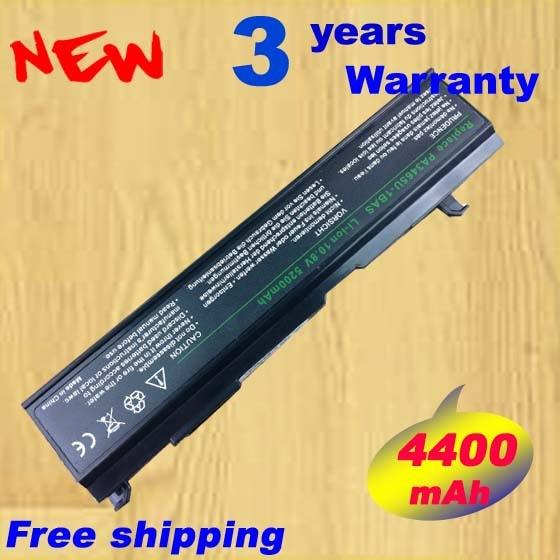 4400 mAh batterie pour Toshiba Satellite M50 M70 A100 PA3465U - 1brs PA3465U - 1brs PABAS069 PA3465U PA3465 + livraison gratuite