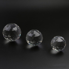 80mm Multi-Faceted Clear Crystal Flat Balls Natural Stone Suncatcher for Photography/Window/Wedding/ Party Decoration