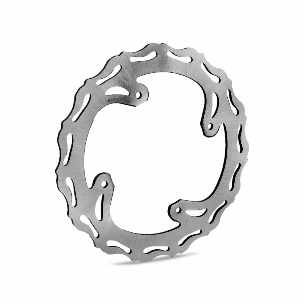 NICECNC 240mm Motorcycle Rear Brake Disc Rotor For Honda CR125 CR250 CR 125 250 02-07 CRF250R CRF450R CRF250X CRF450X 2005-2017 цена