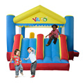 Dual Slide Bounce House Inflatable Jump Bouncer Moonwalk Climbing Obstacle Course