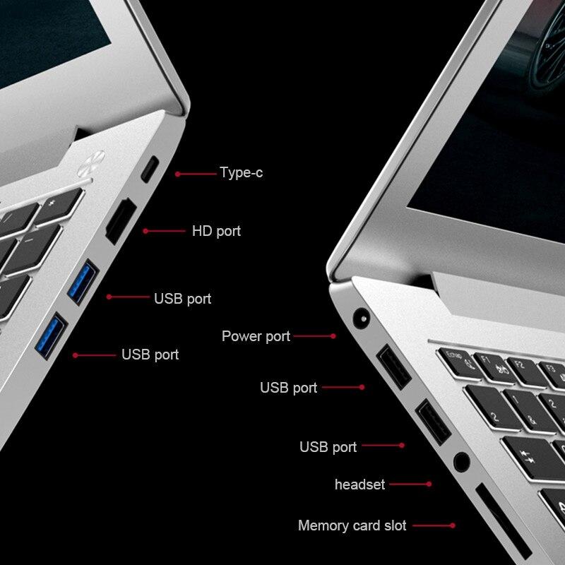 """טלויזיות פלזמה LCD P10-12 16G RAM 1024G SSD אינטל i7-6500u 15.6"""" Gaming 2.5GHz-3.1GHZ NVIDIA GeForce 940M 2G מחשב נייד עם מקלדת מוארת (5)"""