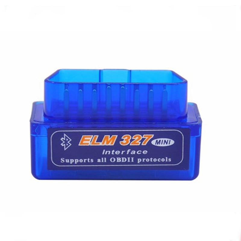 Супер ELM327 V1.5 Мини ELM327 Bluetooth адаптер OBD2 elm327 автоматический диагностический интерфейс ELM 327 OBDII автомобильный считыватель кодов проверочный двигатель