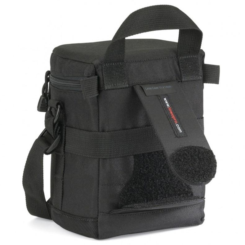 Gratis frakt NYHET Lowepro objektivfodral 11 x 14 cm väska för - Bälten väskor - Foto 4