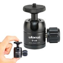 U 10 Mini CNC Tripod Ball Head Fit All Camera for iPhone Vloging Mini Tripod Monopod