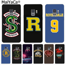 MaiYaCa American TV Riverdale Painted LOGO Abstract Phone Cases for Samsung S9 S9 plus S5 S6 S6edge S6plus S7 S7edge S8 S8plus(China)