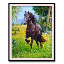 5D diamond painting horse new style modern animal embroidery cross stitch living room decoration full dril