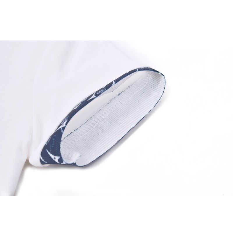 ชายเสื้อโปโลแขนสั้น 2019 ฤดูร้อน Cotton Turn - down Collar ยี่ห้อเด็ก Polo สีขาวเด็กเสื้อโปโล tees เสื้อผ้าเด็ก