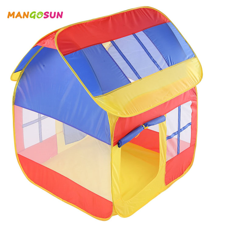 Enfants Pop Up Tentes Pliable Maisonnettes pour Enfants Piscine À Balles Intérieur Sports de Plein Air Jeu Jouet Tente Garçons Filles D'anniversaire Cadeau