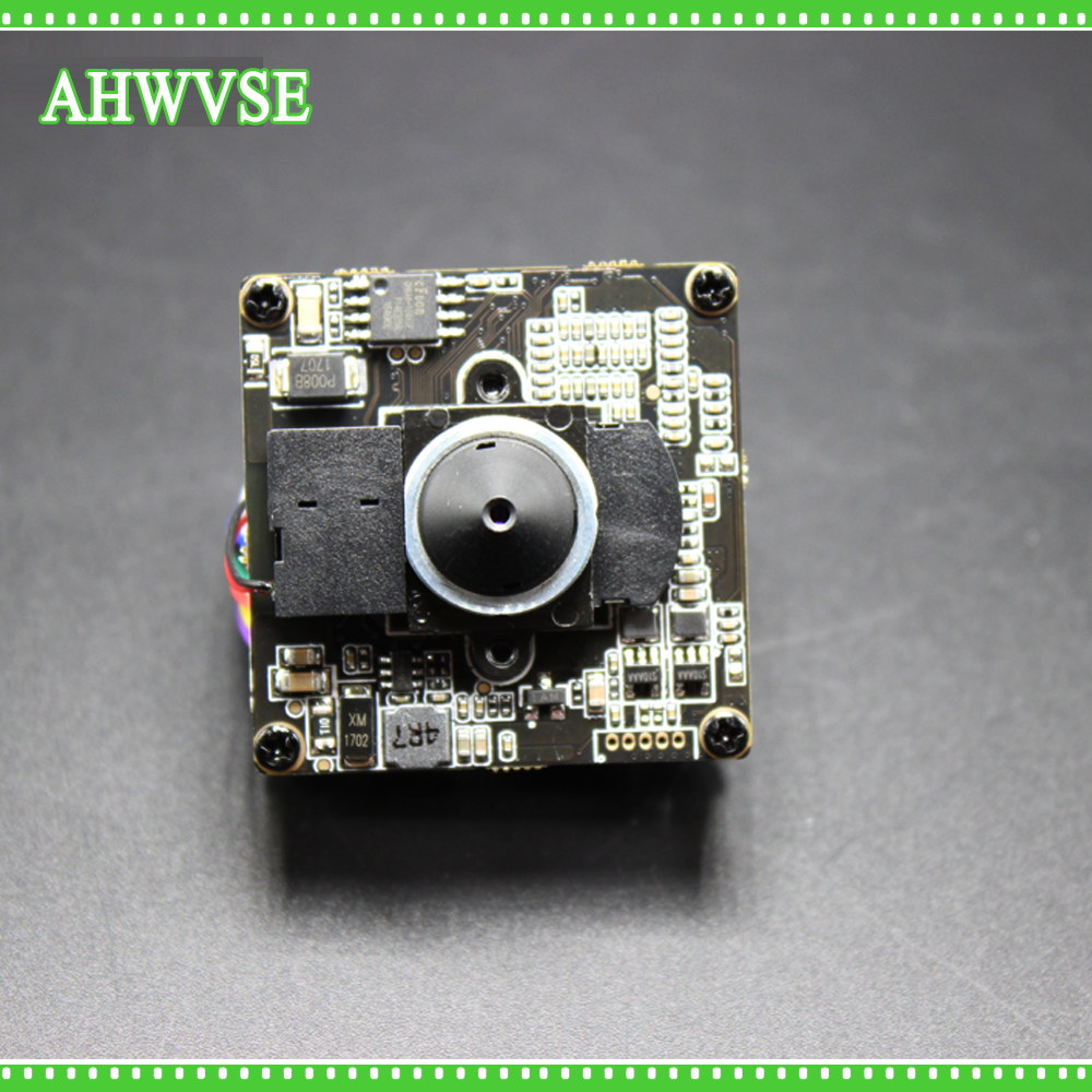 AHWVSE H.264 FULL HD 1080 P 2.0 Mégapixels de Sécurité POE IP Caméra Module Conseil 1080 P 48 V PoE 3.7mm Lentille