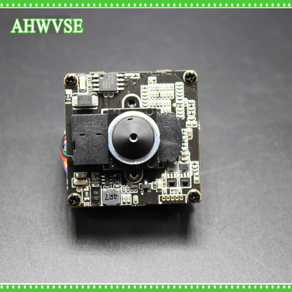AHWVSE H.264 FULL HD 1080P 2.0 Megapixel Security POE IP Camera Module Board 1080P  48V PoE 3.7mm Lens