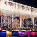 Waterfall Outdoor 6m x 3m 600 Led Fairy String Curtain Light Christmas Wedding Backdrop Party Garden Decoration 220v Light