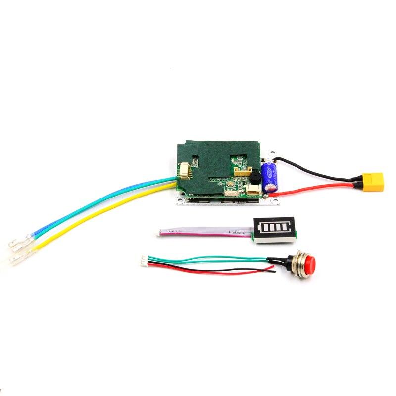 FATJAY nouvelle version 2.4G transmetteur avec LED indicateur de batterie unique double moteur lecteur contrôleur pour planche à roulettes électrique