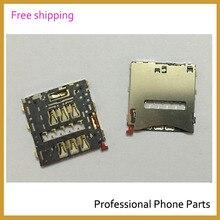 Original New SIM Card Reader Holder Reader Slot For Sony Xperia Z2 L50W D6503 D6502 Mobile