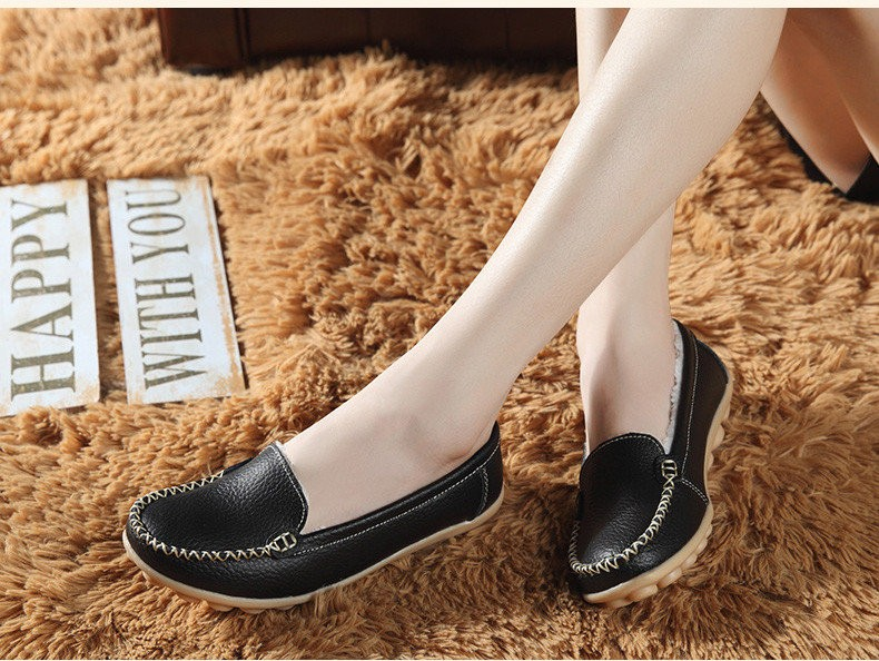 HY 918-2 (19) women's flats loafers shoes