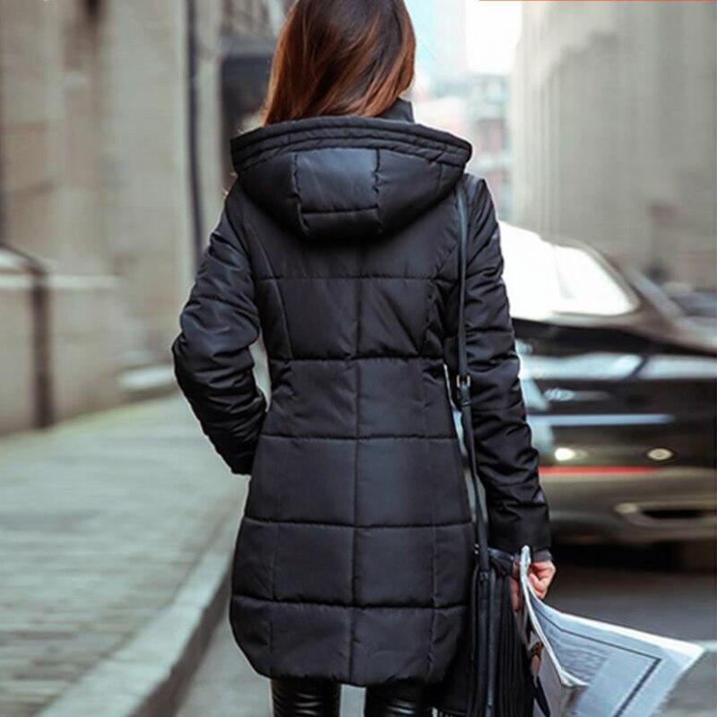 Haute pu Manteau Taille La Ciel Veste Femelle 6xl Mode Femmes rose Casual Noir Capuchon rouge Parka 2017 lavande Bleu Plus 5l10 marine À Qualité rhodo Marque De D'hiver kaki zI1qR
