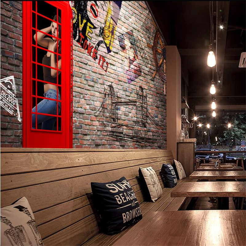 Custom Wall Murals Large Vintage Nostalgic Marilyn Monroe 3d Wallpaper Living Room Embossed Non-Woven TV Background Restaurant marilyn monroe retro wallpaper custom european style movie star настенная панно для постельных принадлежностей