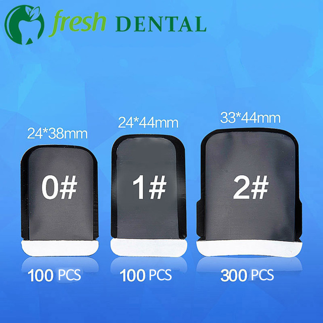 Dental Barrier Envelopes Dental Bags for X ray Film 0# 1# 2# X-ray Film bags dental consumables materials SL453