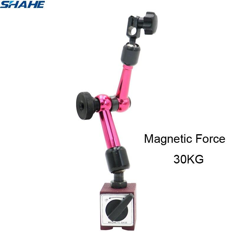 shahe New Adjustable Magnetic Base Stand Holder for Indicators Magnetic Force 30KG