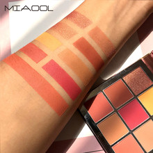 Matte Eyeshadow Palette 9 Color  Waterproof Eye Shadow Plate Powder Matt Eyeshadow Cosmetic Makeup Cosmetics    5.8 недорого