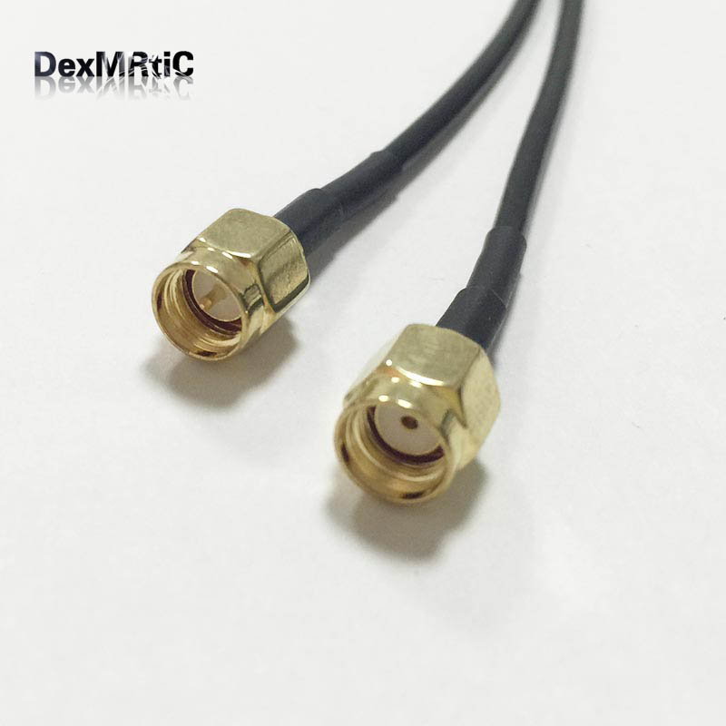 WIFI antenna extension cable SMA male to RP SMA plug pigtail adapter RG174 20cm 8 wholesale price