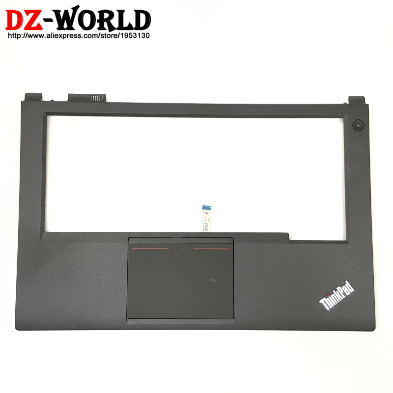 New Original for Lenovo ThinkPad T440P Keyboard Bezel Palmrest Cover with NFC Touchpad and Touchpad Cable 04X5397 new original palmrest for lenovo y700 15 y700 15isk y700 15acz keyboard with backlit bezel upper cover