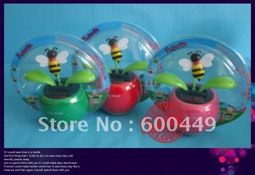 Free shipping  CMP (15pcs/lot)/solar dancing flower/solar flip flap/solar gift/solar novelty toys